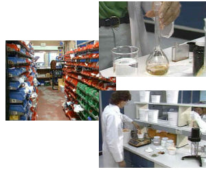 A few of the environments where occopational hygiene is required